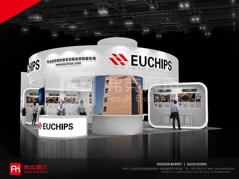 欧切斯照明展展台设计方案